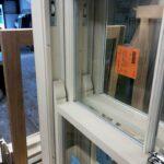 softwood sash window horn