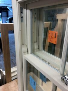 softwood sash window horn