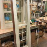 Hardwood sash window - chelsea London