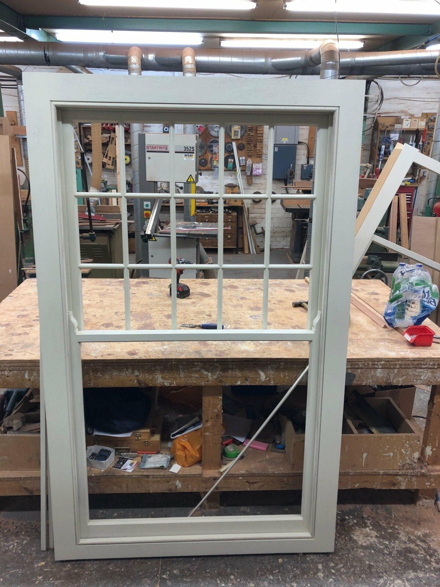 Hardwood sash window - chelsea - London