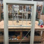 Hardwood sash window - London