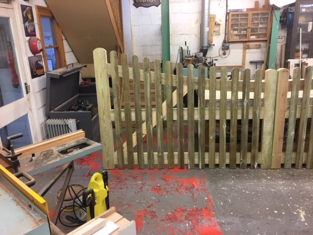 Treated Softwood Gates - Herts