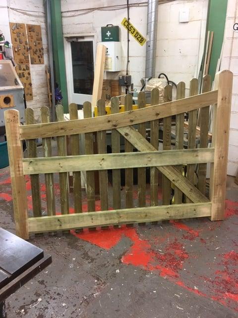 Treated Softwood Gates