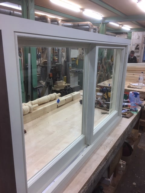 Yorkshire sash window - London 2