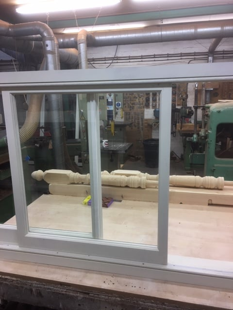 Yorkshire sash window - London 3