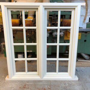 Softwood double glazed casement windows