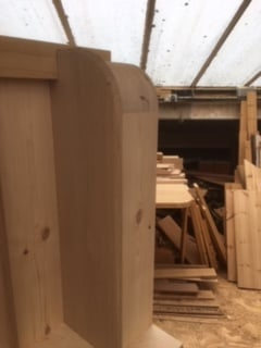 Purpose made oak tread staircase - Hertfordshire 3