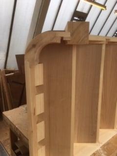 Purpose made oak tread staircase - Hertfordshire 4