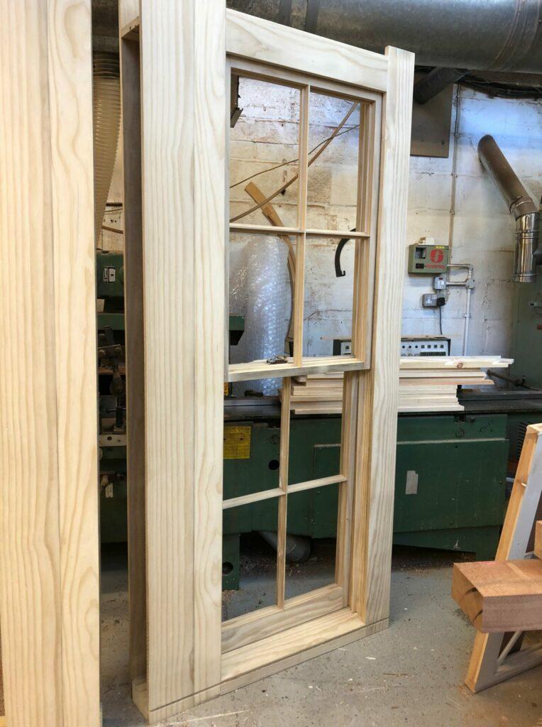 Accoya sash window