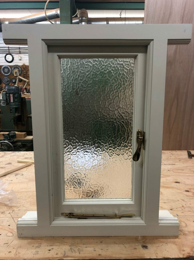 small casement window