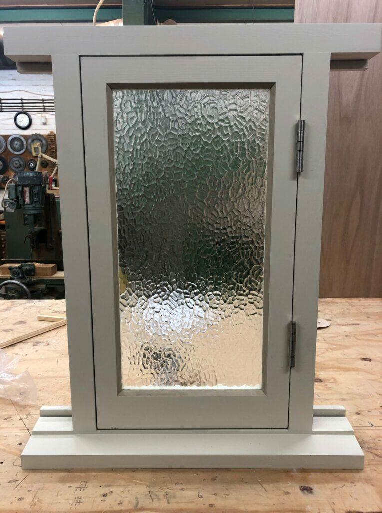 bathroom casement window