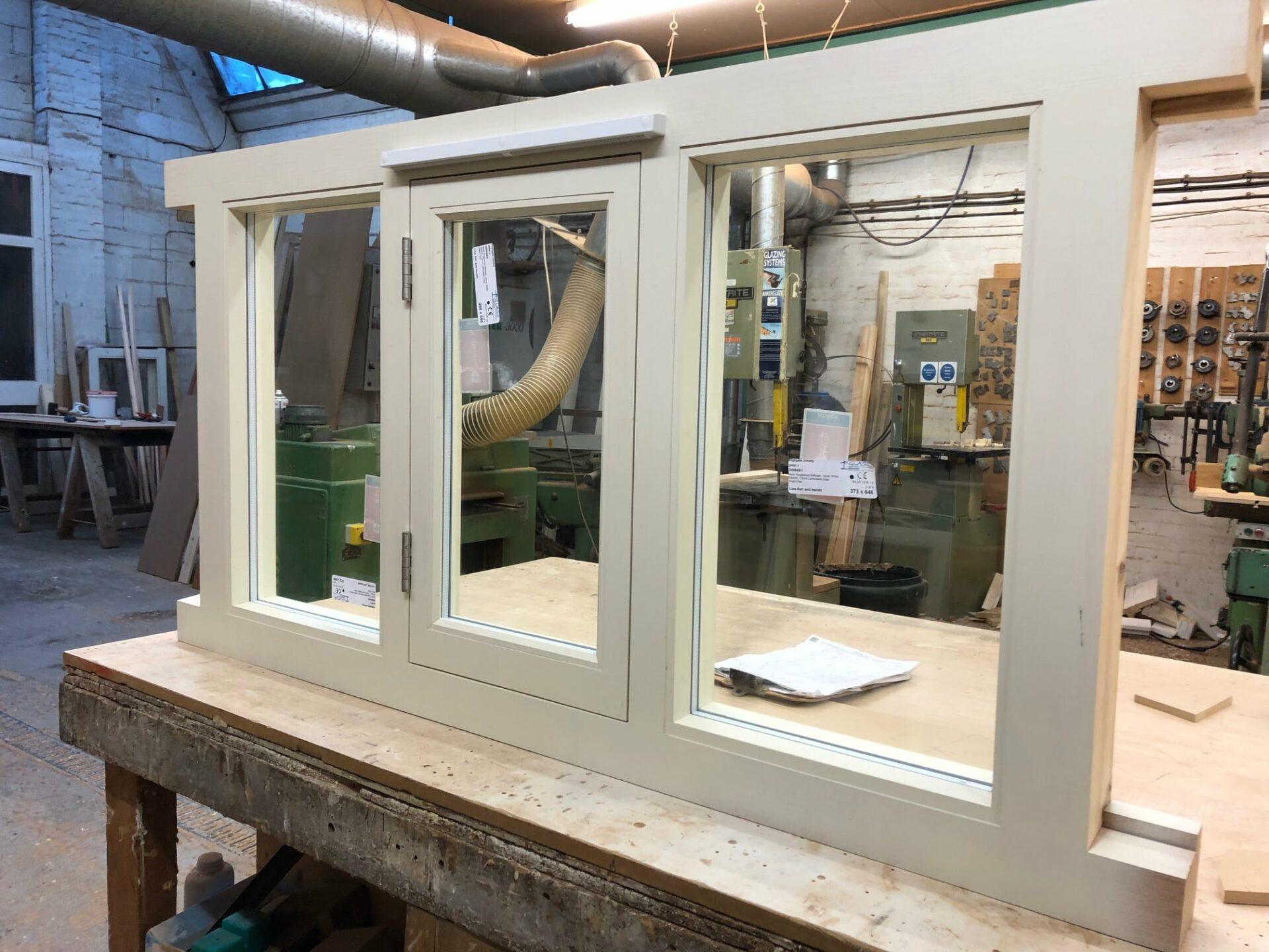Softwood casement window